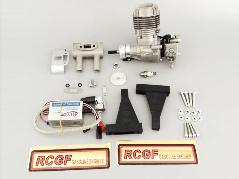 Image 1 of RCGF 20cc RE Stinger Rear exhaust NEW
