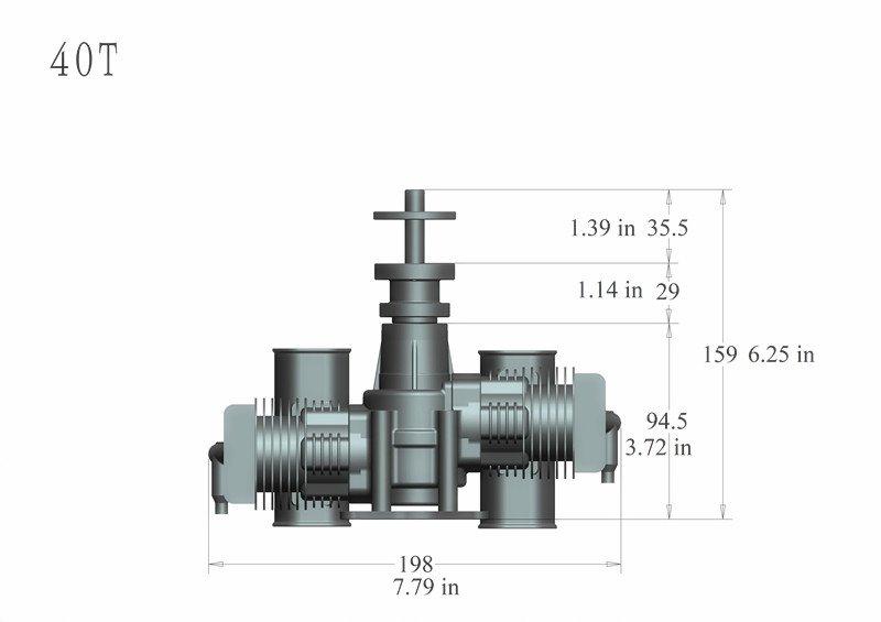 Image 4 of RCGF 40TS 40CC TWIN Gas Engine