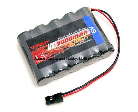 Image 1 of Tenergy 6.0V 2000mAh NiMh 5-Cell Receiver Pack Battery