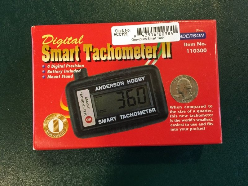 Image 0 of One touch digital smart tach