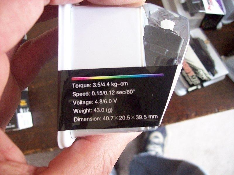 Image 2 of Power HD Servo 3001HB Analog 60oz torque