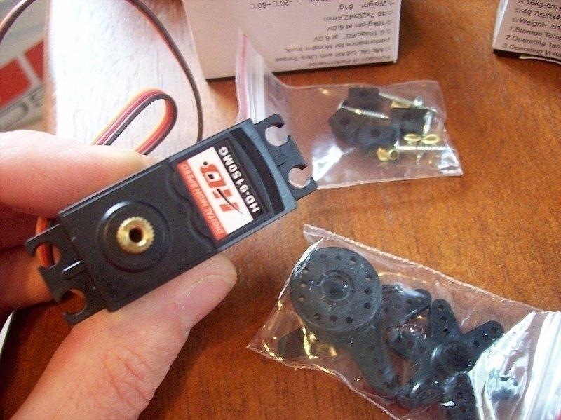 Image 1 of Power HD Servo HD-9150MG Digital 220oz torque