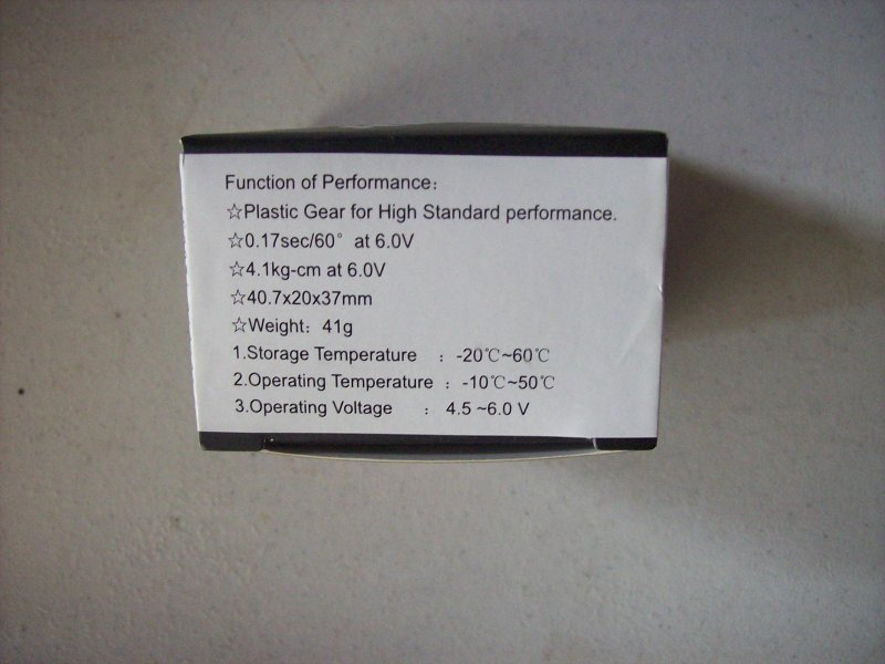Image 1 of Power H.D 4180BB Digital servo