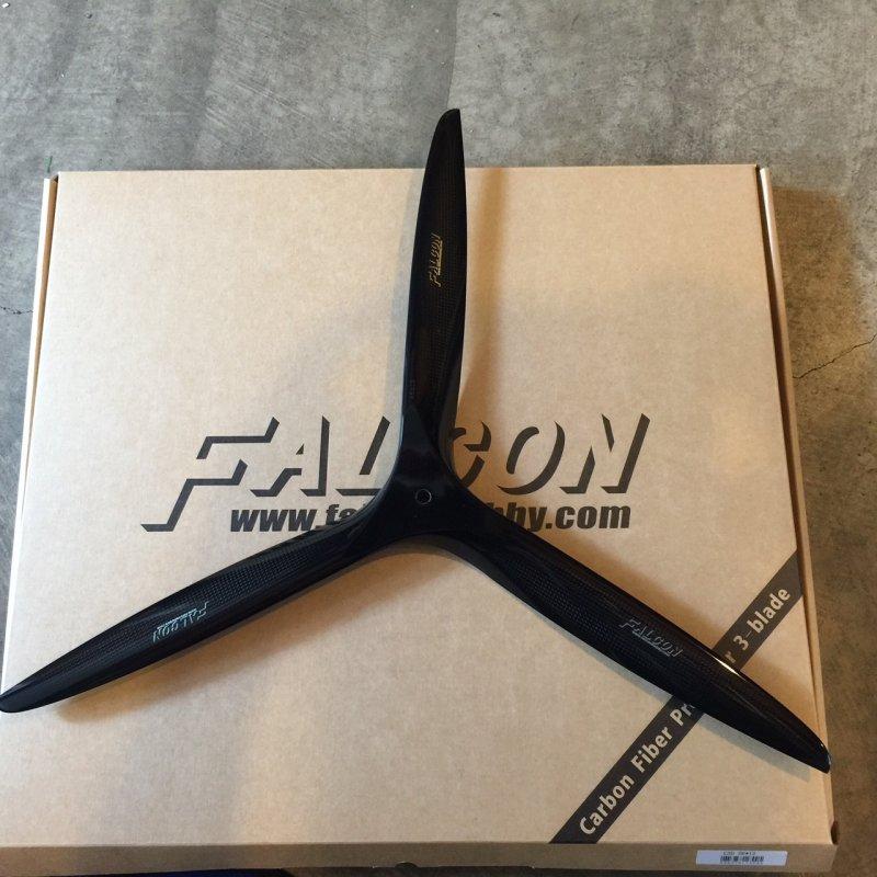 Image 0 of Falcon 29x13 3 Blade Carbon Fiber prop Gas