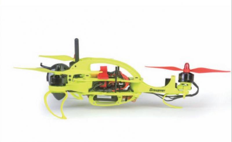 Image 3 of Graupner Hornet 250 Tri-Copter FPV - RTF