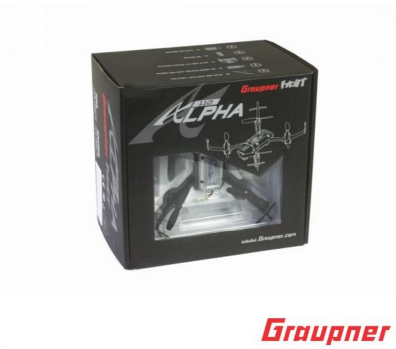 Image 6 of Graupner Alpha 110 Quad Copter RTF - FPV
