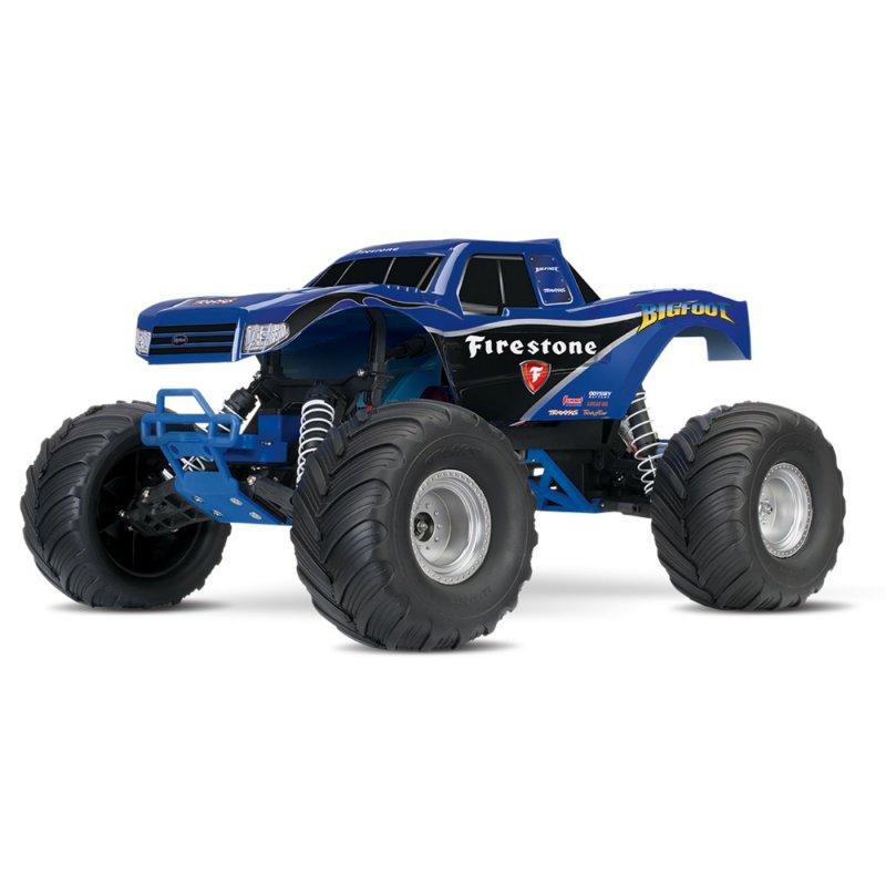 Image 0 of Traxxas BIGFOOT The Original Monster Truck, Firestone Blue, RTR W/ XL5 ESC & TQ