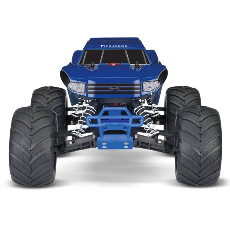Image 10 of Traxxas BIGFOOT The Original Monster Truck, Firestone Blue, RTR W/ XL5 ESC & TQ