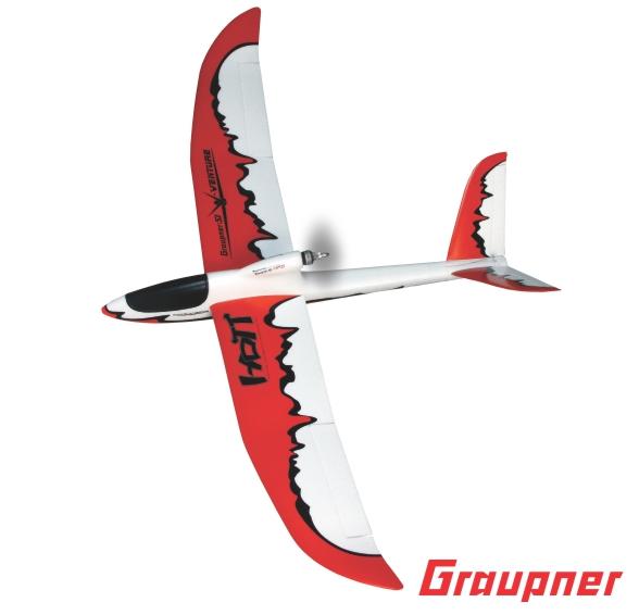 Image 1 of Graupner V-VENTURE HoTT Glider ARF