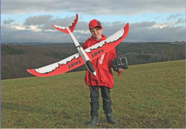 Image 4 of Graupner V-VENTURE HoTT Glider ARF
