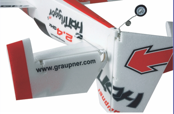 Image 4 of Graupner HoTTrigger 1400 Sport 3D Red ARF