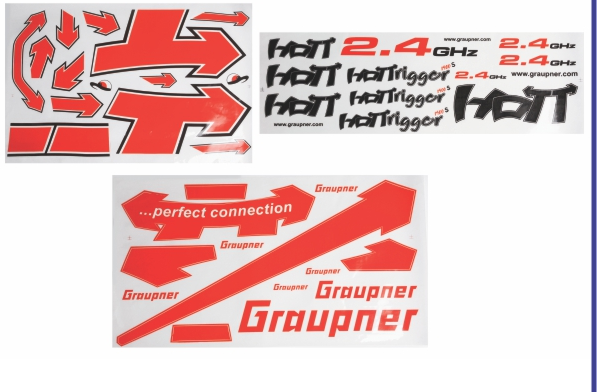 Image 6 of Graupner HoTTrigger 1400 Sport 3D Red ARF