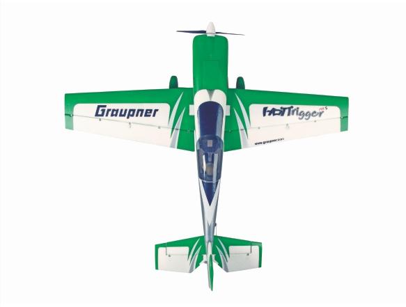 Image 1 of Graupner HoTTrigger 1400 Sport 3D Green ARF