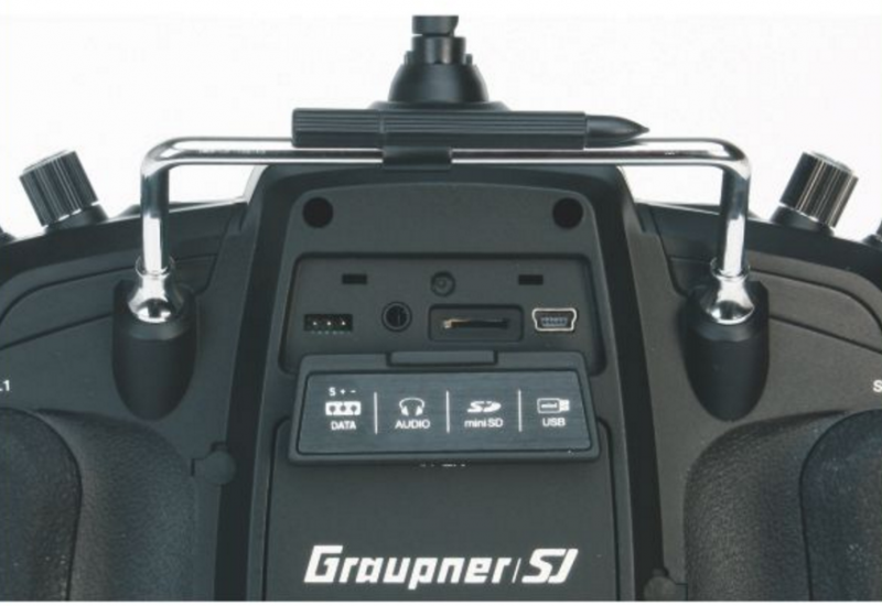 Image 1 of Graupner mz-18 9 Channel 2.4G.HZ HoTT Color TFT Transmitter