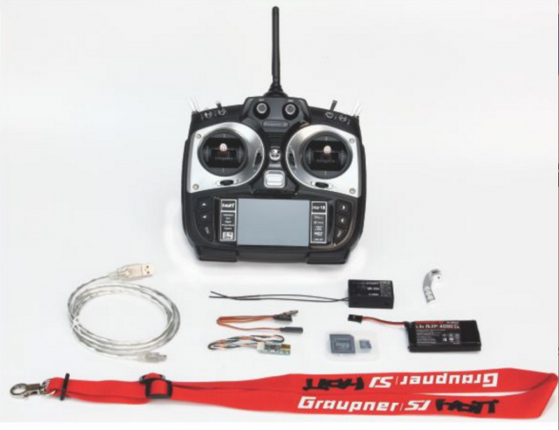 Image 2 of Graupner mz-18 9 Channel 2.4G.HZ HoTT Color TFT Transmitter
