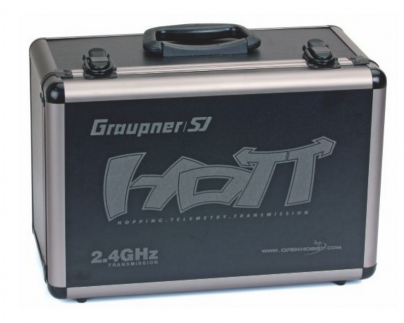 Image 5 of Graupner mz-18 9 Channel 2.4G.HZ HoTT Color TFT Transmitter