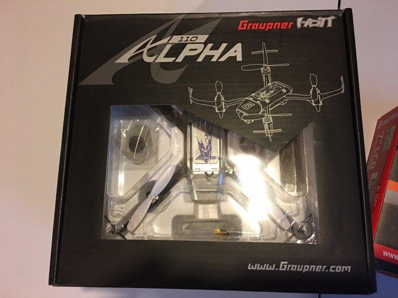 Image 1 of Graupner Alpha 110 Quad Copter RTF - FPV - TFT