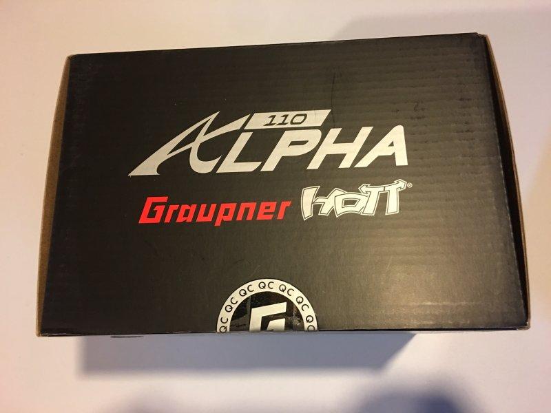 Image 2 of Graupner Alpha 110 Quad Copter RTF - FPV - TFT