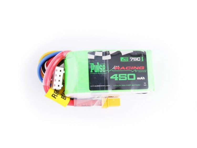 Image 0 of PULSE 450mAh 3S 11.1V 75C - FPV Racing series - LiPo Battery