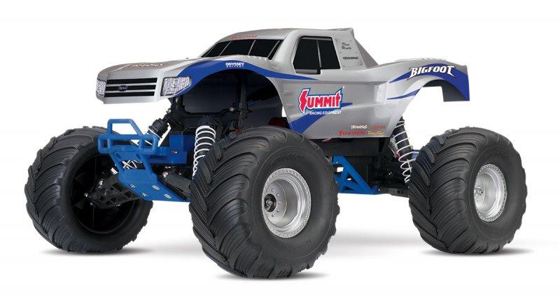 Image 0 of TRAXXAS BIGFOOT Original Monster Truck, Summit Silver, RTR W/ XL5 ESC & TQ 2.4