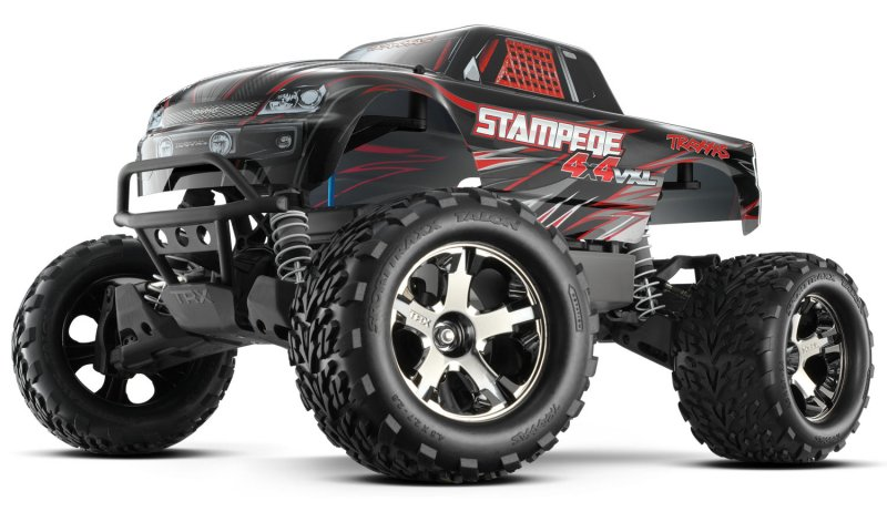Image 0 of Traxxas STAMPEDE 4X4 VXL 1/10 MONSTER TRUCK RTR, W/ 2.4GHZ RADIO, 3000mAh BATTER