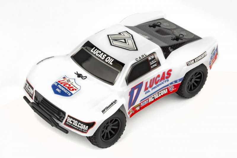 Image 1 of Team Associated SC28 Lucas Oil Edition Micro Short Course Truck 1/28 RTR