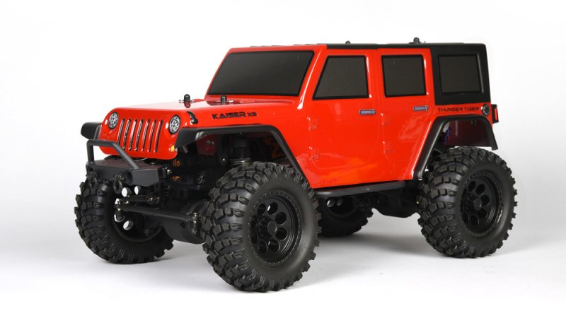 Image 0 of Thunder Tiger Kaiser XS Red 1/14 Scale 4x4 Off-Road Trail Truck RTR