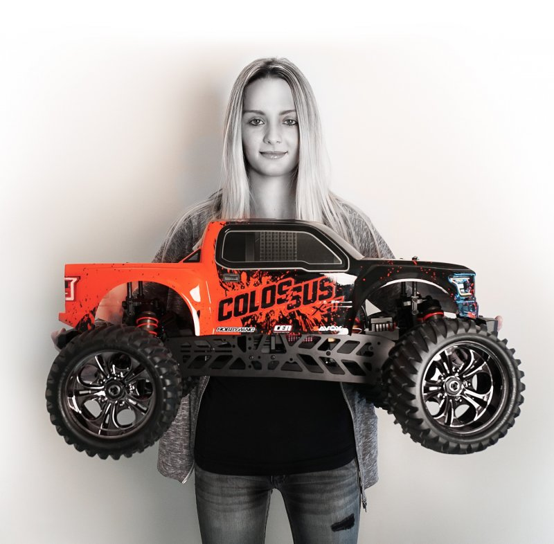 Image 10 of Colossus XT Mega Monster Truck RTR, COMBO package EVERYTHING included