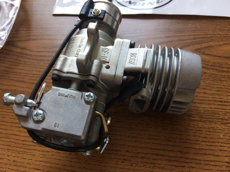 Image 2 of RCGF 10CC Gas Engine Rear exhaust