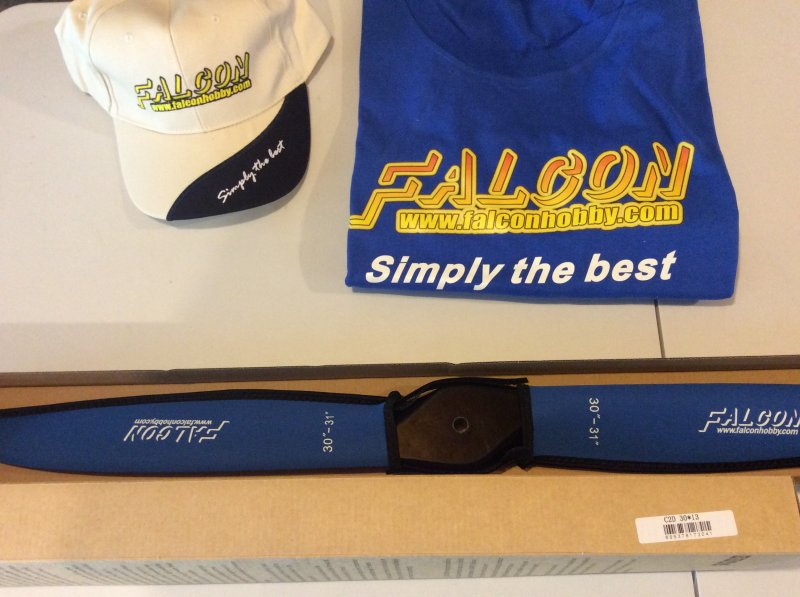 Image 0 of Falcon 30x13 Carbon Fiber prop w/neoprene prop covers FREE Hat or Shirt