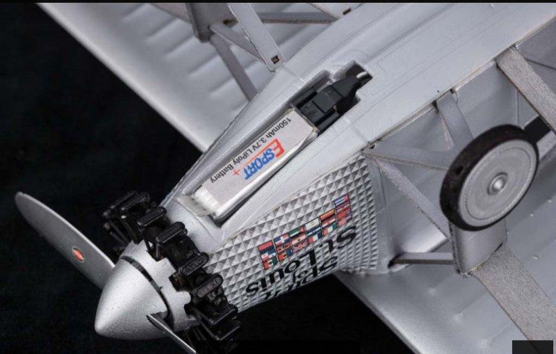 Image 3 of Spirit of St. Louis Micro RTF Airplane