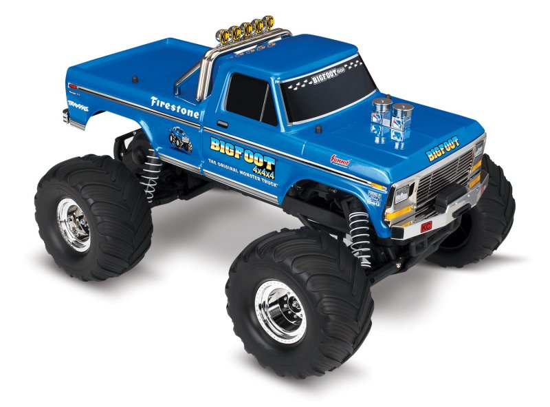 Image 0 of TRAXXAS BIGFOOT No. 1, 1/10 Scale 2WD Monster Truck, Waterproof, RTR