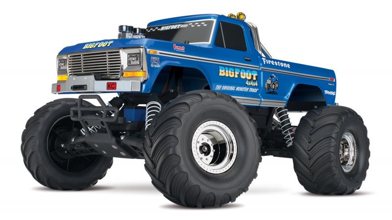 Image 1 of TRAXXAS BIGFOOT No. 1, 1/10 Scale 2WD Monster Truck, Waterproof, RTR