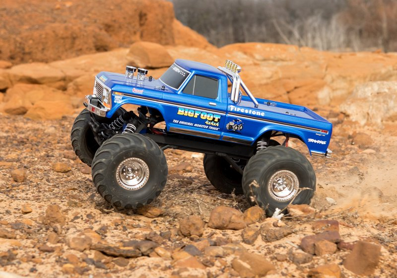 Image 3 of TRAXXAS BIGFOOT No. 1, 1/10 Scale 2WD Monster Truck, Waterproof, RTR