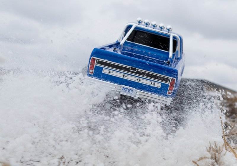 Image 4 of TRAXXAS BIGFOOT No. 1, 1/10 Scale 2WD Monster Truck, Waterproof, RTR