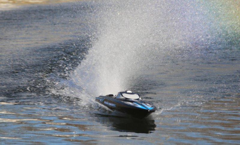 Image 3 of Rage Black Marlin Brushless RTR Boat