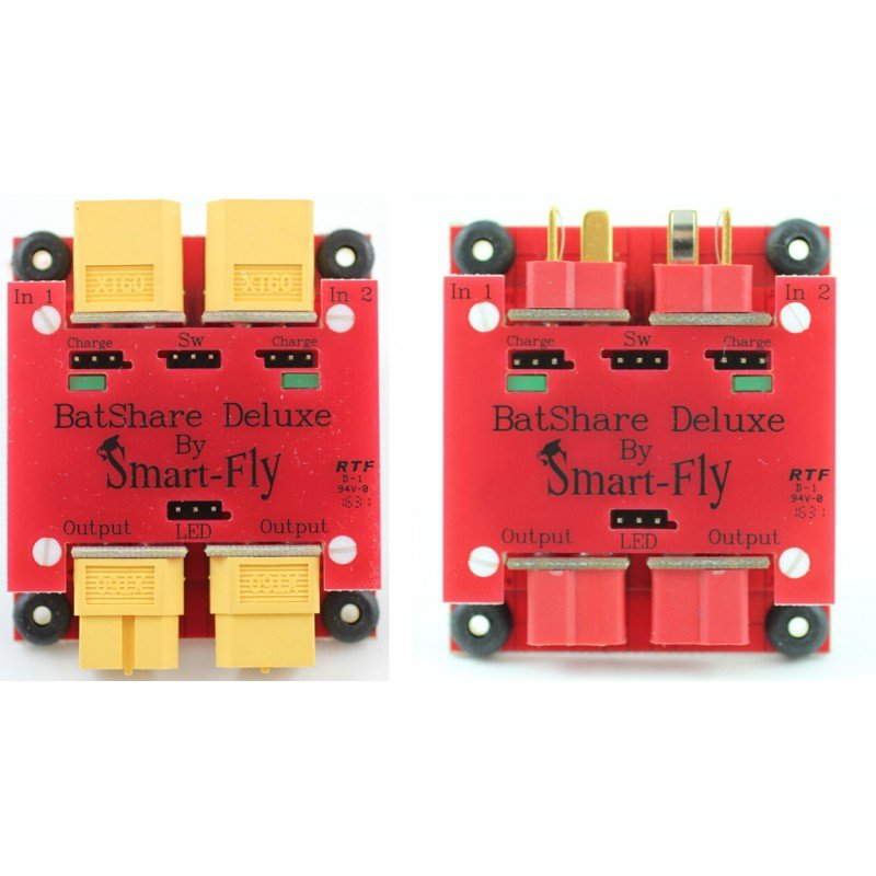 Image 0 of Smart-Fly BATSHARE DELUXE XT60