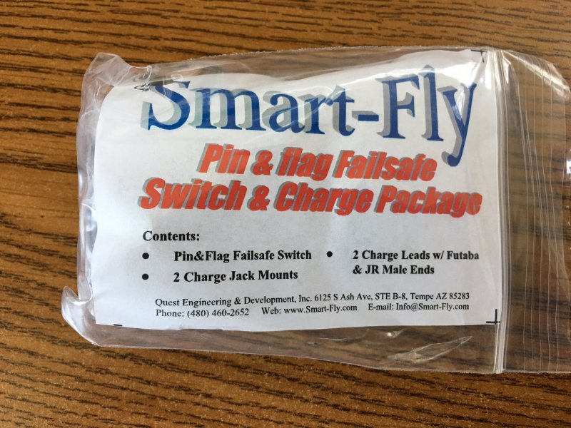 Image 0 of Smart fly PIN & FLAG FAILSAFE-SWITCH & CHARGE PACKAGE