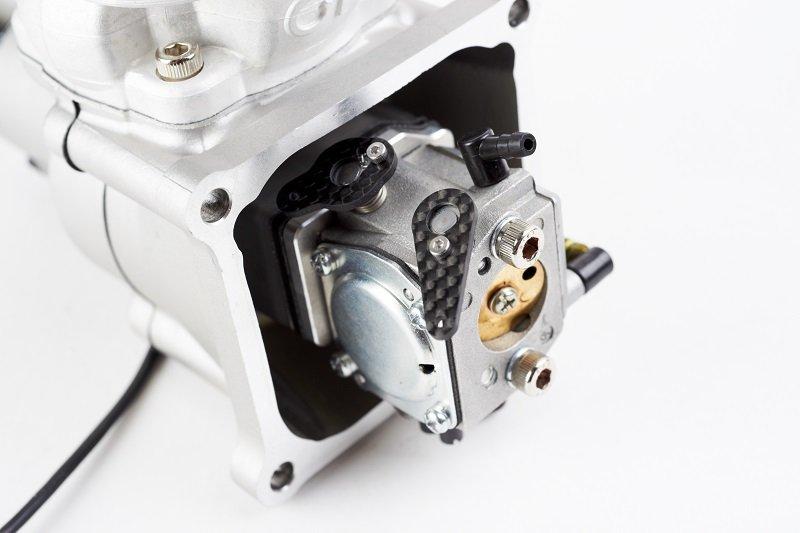 Image 2 of GP61 single cylinder 61cc RC model aircraft engine 6.5h.p.