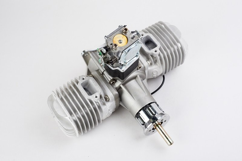 Image 13 of GP123 Twin cylinder 123cc RC model aircraft engine 12h.p.
