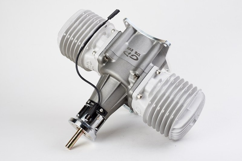 Image 0 of GP176 EVO Twin cylinder 176cc RC model aircraft engine 20.5h.p.