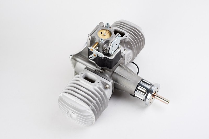 Image 1 of GP176 EVO Twin cylinder 176cc RC model aircraft engine 20.5h.p.