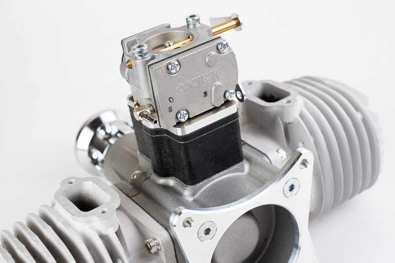 Image 2 of GP176 EVO Twin cylinder 176cc RC model aircraft engine 20.5h.p.