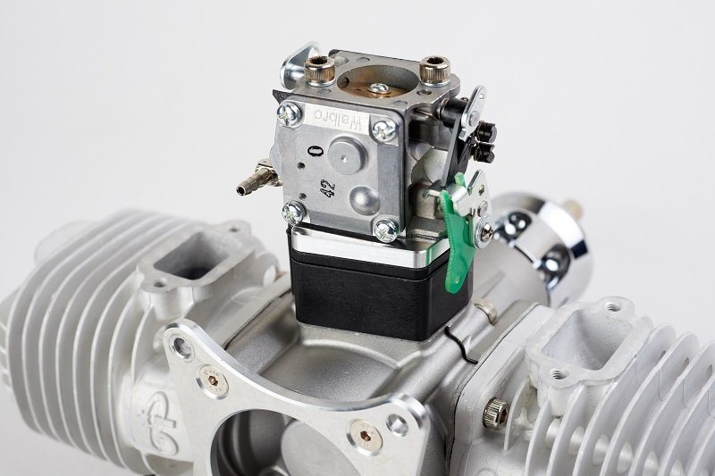 Image 3 of GP176 EVO Twin cylinder 176cc RC model aircraft engine 20.5h.p.