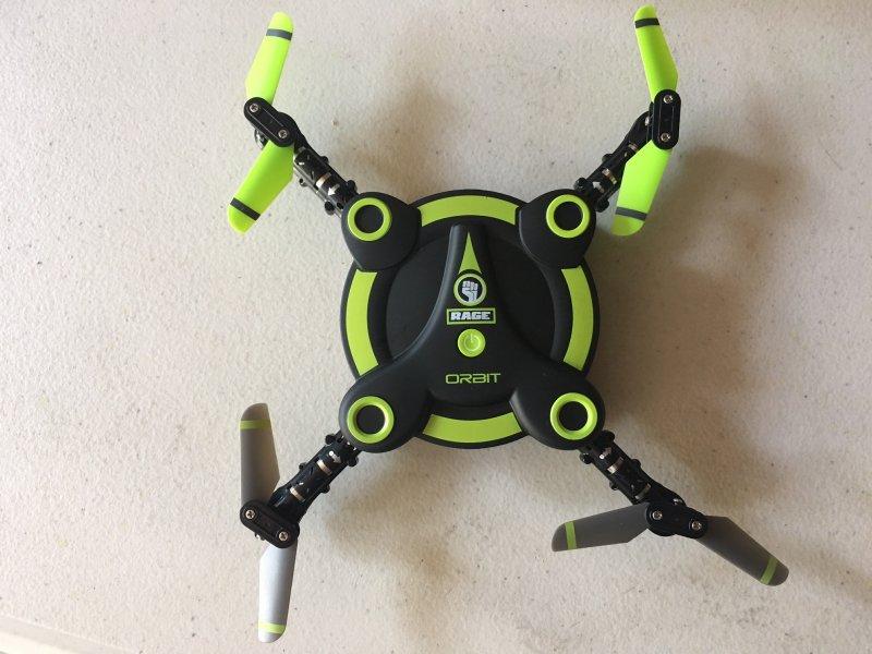 Image 5 of Rage Orbit FPV Pocket Drone RTF VR goggles included & 2 batteries