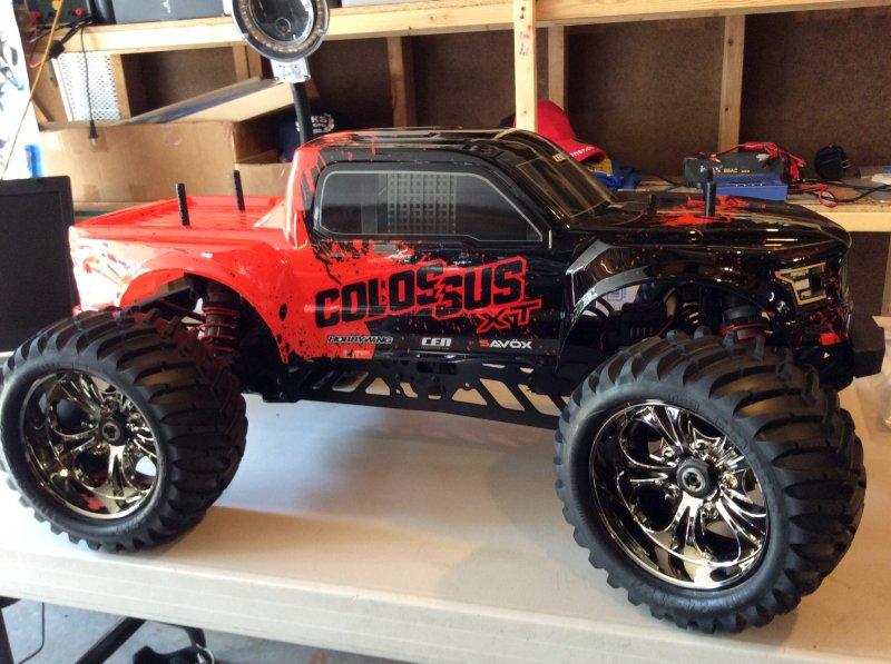 Image 0 of Colossus XT Mega Monster Truck RTR, w/ HobbyWing ESC,
