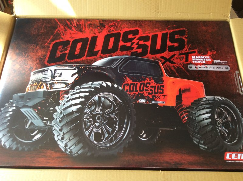 Image 8 of Colossus XT Mega Monster Truck RTR, COMBO package EVERYTHING included