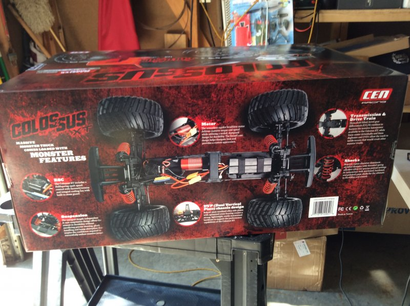 Image 9 of Colossus XT Mega Monster Truck RTR, COMBO package EVERYTHING included