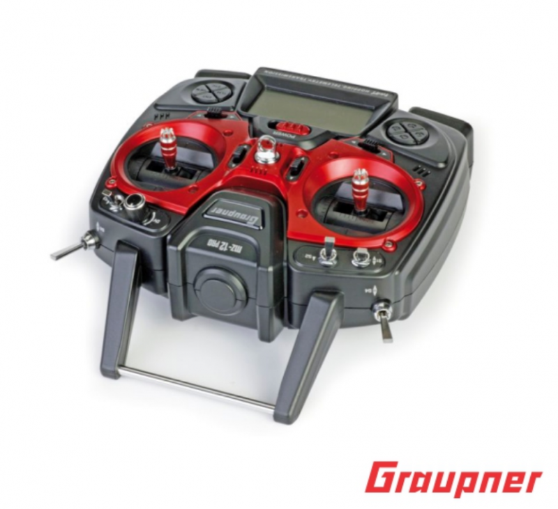 Image 8 of Graupner mz-12 PRO 12 Channel 2.4GHz HoTT Transmitter with Falcon 12 Receiver