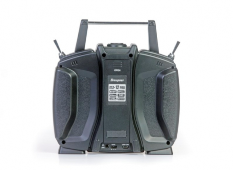 Image 7 of Graupner mz-12 PRO 12 Channel 2.4GHz HoTT Transmitter with Falcon 12 Receiver
